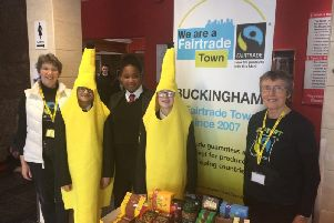 The Royal Latin School hosts an event to mark FairTrade Fortnight