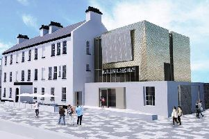 An artist's impression of how the Maritime Museum will look when completed.