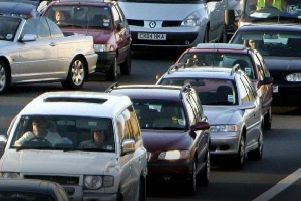 Police are warning motorists to leave extra time for journeys