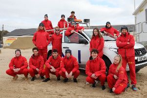 RNLI lifeguards ready to patrol beaches at Camber, Hastings and Bexhill. Photo by Kt Bruce. SUS-190415-134023001