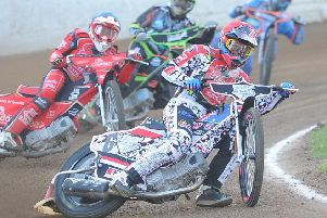 Aaron Summers rides for Panthers against King's Lynn.