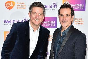 Dick and Dom (Photo by Jeff Spicer/Getty Images)