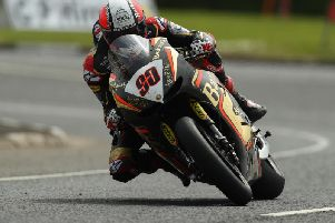 Michael Rutter on the Bathams/Aspire-Ho Honda RCV.