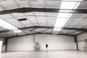 Richard Dinan inside Pulsar Fusion's new facility 'near Bletchley'