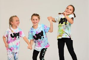Library image of pupils from UP! Dance Collaborations
