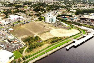 Most of the Fort George site on Derry's riverfront has being lying vacant for the past 20 years.