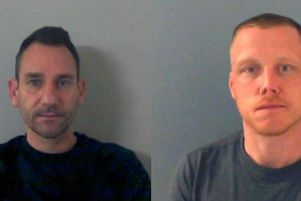 Colin McCabe (left) and Robert Price (right) were jailed for their parts in the international online drug dealing business - there is no police photo available of Toby Woods