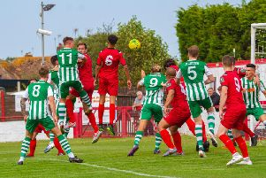 Action from Chi City's win at Ramsgate / Picture by Neil Holmes