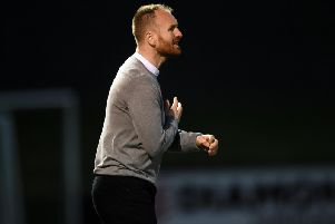 St Pat's boss,. Stephen O'Donnell saw his side defeat Derry City at Brandywell