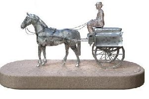 Larne people are being asked to give their views on a proposed life-size sculpture of Henry McNeill.