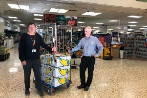 Tesco donations are collected to help recovery