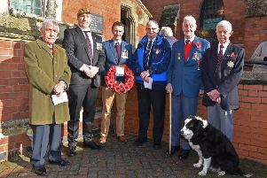Remembrance at Wragby EMN-191111-080207001