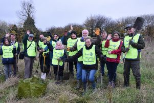 National Tree Planting Week in Aylesbury last Saturday