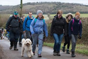 Youth Concern's Winter Walk in The Chilterns