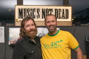 Andy Rimmer, the former owner of No.48, has partnered up with Music's Not Dead. Picture: Jeff Penfold