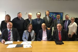 A cross-party delegation of elected members and officers from Lisburn and Castlereagh City Council met with senior officials from the Department for Infrastructure to discuss how to progress long-awaited safety improvements at the Knockmore/Ballinderry/Prince William Road junctions.