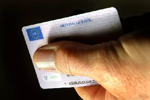 Driving Licence - Credit: John Stillwell/PA Wire