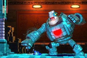 It may look different but Mega Man 11 retains the game's charming fun