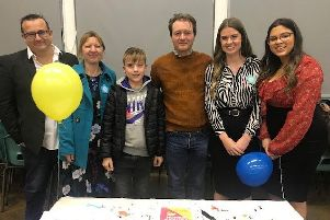 Richard Ratcliffe recently spoke to students at Southam College about his family's fight to help free his wife Nazanin who has been imprisoned in Iran. Photo supplied.