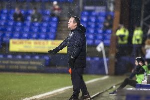 Tranmere boss Micky Mellon. Picture: Kirsty Edmonds