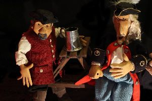 The Rattlebox Theatre Company's pasty pirate puppet show