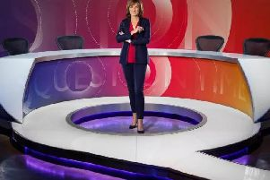 Question Time presenter Fiona Bruce