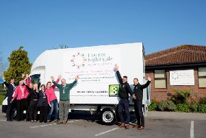 The Florence Nightingale Hospice charity's new van