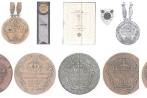 The Olympic and Commonwealth medals that were stolen from a home in Monks Risborough