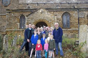 The congregation at St Andrew's Church in Great Billing will be able to worship in all weathers when repairs are complete later this year