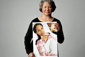 Margaret Chung, 66, from Great Missenden features in a powerful portrait series for Bowel Cancer UK, in their campaign #ThisIsBowelCancer