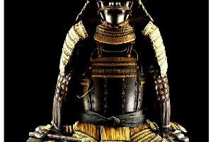 The Samurai armour featured in the exhibition