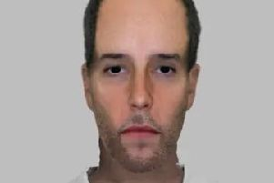 Police have released this e-fit in connection with a burglary in Whitchurch