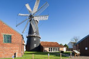 Heckington Windmill following the restoration.
