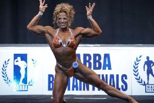 Aylesbury bodybuilder Lucy Scroggs has reached the NABBA Miss Universe finals after finishing in the top six in the British finals