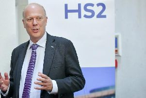 The Head of Department for Transport, Chris Grayling says the high speed project is to go under the microscope, with fresh fears the project could be scrapped.