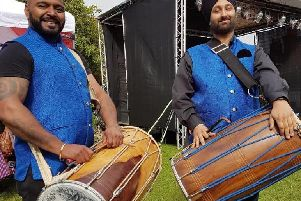 Indian drummers will be entertaining the crowds at Bucks County Museum