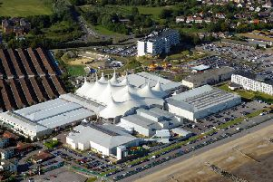 An aerial view of Butlin's Bognor Regis. Picture by Allan Hutchings