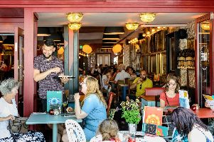 A family-friendly chain known for its famous tapas. The Panero Lounge is described as a 'retro-inspired cosy retreat, where eclectic artwork and quirky curios will sit next to oversized vintage sofas and old school benches.'