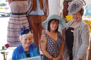 They've got their hats sorted! Age UK Lindsey shop manager Diane'Cresswell, right, with volunteers Jo Gregory and Ann Otter. EMN-190707-215703001