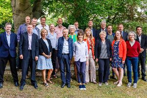 Greens, Lib Dems, Labour and independents mark their co-operative alliance taking control of Lewes District Council