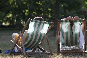 Hot weather can be fun, but residents have been urged to take precautions