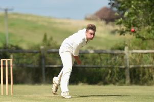 Dan Graycon hit 58 for Slinfold then took 1-26. Picture by Liz Pearce