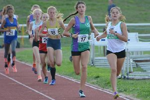 Cerys Dickinson, far right, was in fine form for Chi / Picture by Lee Hollyer