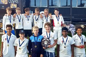 Middleton's under-14 winners