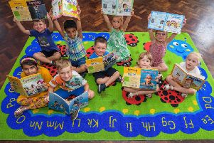 Broughton Community Infant School in Aylesbury, which was struck by a fire at the end of last year, has received a donation of over 1,000 to help improve the schools facilities.