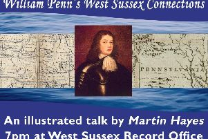 The new exhibition will look at ties between West Sussex and the USA