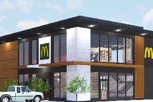 An image of how the Lewes McDonald's might look