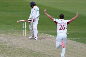 Ben Sanderson has been hugely influential at Northants again this season