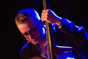 Double bassist and band leader Arnie Somogyi,