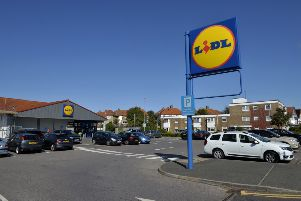 The incident happened in the Lidl store in Seaside, Eastbourne (Photo by Jon Rigby)